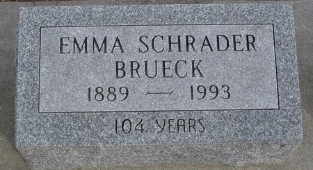 SCHRADER BRUECK, EMMA - Ida County, Iowa | EMMA SCHRADER BRUECK