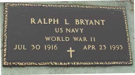 BRYANT, RALPH L. - Ida County, Iowa   RALPH L. BRYANT