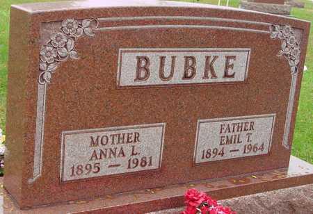 BUBKE, EMIL & ANNA - Ida County, Iowa   EMIL & ANNA BUBKE