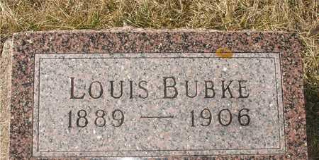 BUBKE, LOUIS - Ida County, Iowa   LOUIS BUBKE