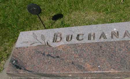 BUCHANAN, WALDON RODY - Ida County, Iowa | WALDON RODY BUCHANAN