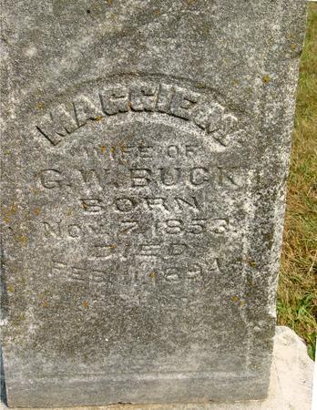 GRIFFIN BUCK, MAGGIE M. - Ida County, Iowa | MAGGIE M. GRIFFIN BUCK