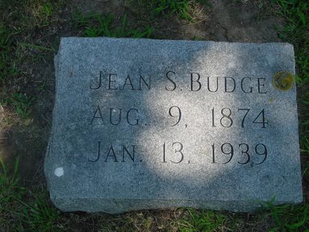 BUDGE, JEAN S. - Ida County, Iowa | JEAN S. BUDGE