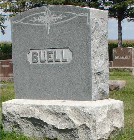 BUELL, FAMILY MARKER - Ida County, Iowa   FAMILY MARKER BUELL