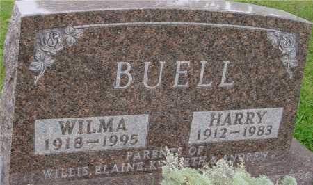 BUELL, HARRY & WILMA - Ida County, Iowa   HARRY & WILMA BUELL