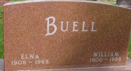 BUELL, WILLIAM & ELNA - Ida County, Iowa | WILLIAM & ELNA BUELL