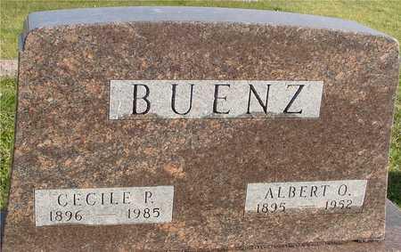 BUENZ, ALBERT & CECILE P. - Ida County, Iowa   ALBERT & CECILE P. BUENZ