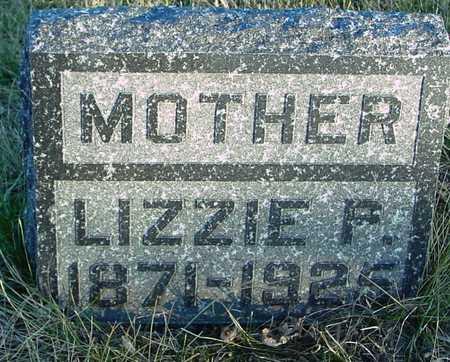 BUENZ, LIZZIE F. - Ida County, Iowa   LIZZIE F. BUENZ