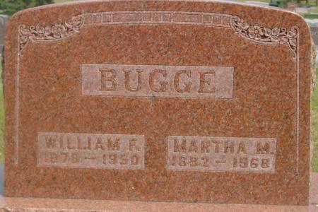 BUGGE, WILLIAM & MARTHA - Ida County, Iowa | WILLIAM & MARTHA BUGGE