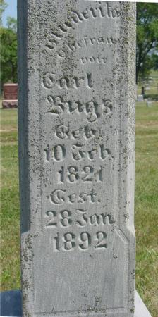BUGS, GRANDMOTHER - Ida County, Iowa | GRANDMOTHER BUGS