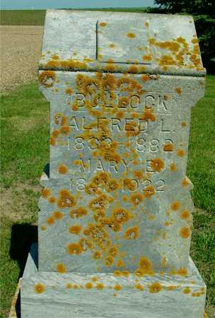 BULLOCK, ALFRED L. - Ida County, Iowa | ALFRED L. BULLOCK