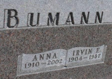 BUMANN, IRVIN F. - Ida County, Iowa | IRVIN F. BUMANN