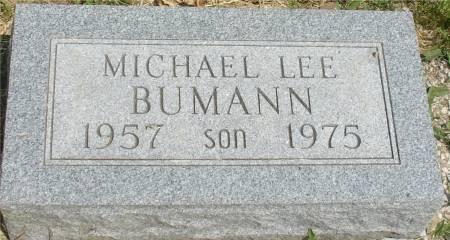 BUMANN, MICHAEL LEE - Ida County, Iowa | MICHAEL LEE BUMANN