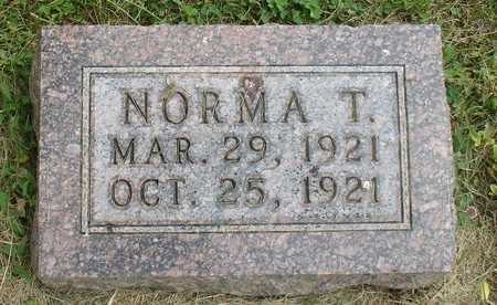 BUMANN, NORMA T. - Ida County, Iowa | NORMA T. BUMANN