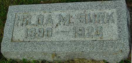 BURK, HILDA M. - Ida County, Iowa   HILDA M. BURK