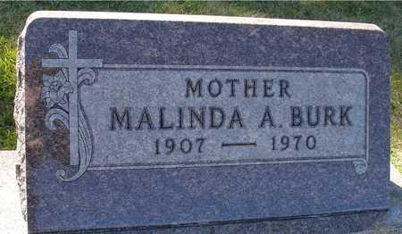 BURK, MALINDA A. - Ida County, Iowa | MALINDA A. BURK