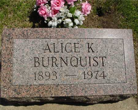 BURNQUIST, ALICE K. - Ida County, Iowa | ALICE K. BURNQUIST