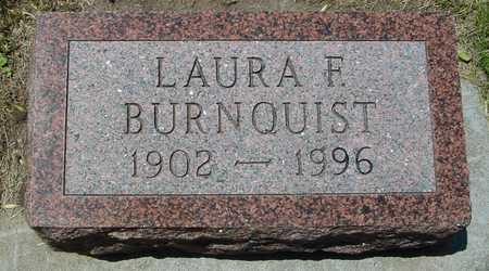 BURNQUIST, LAURA F. - Ida County, Iowa   LAURA F. BURNQUIST
