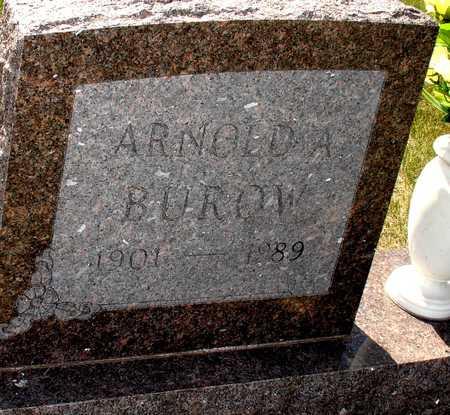 BUROW, ARNOLD A. - Ida County, Iowa | ARNOLD A. BUROW