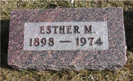BUROW, ESTHER M. - Ida County, Iowa | ESTHER M. BUROW