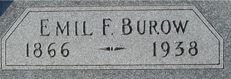 BUROW, EMIL F. - Ida County, Iowa | EMIL F. BUROW