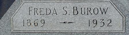 BUROW, FREDA S. - Ida County, Iowa | FREDA S. BUROW