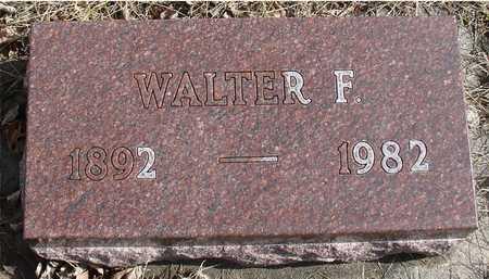 BUROW, WALTER F. - Ida County, Iowa   WALTER F. BUROW