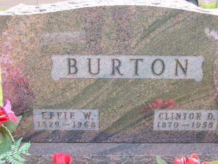 BURTON, CLINTON - Ida County, Iowa   CLINTON BURTON