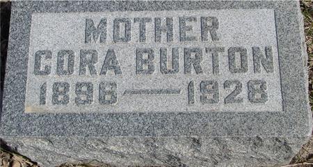 BURTON, CORA - Ida County, Iowa | CORA BURTON