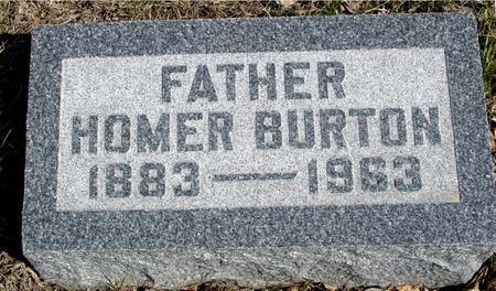 BURTON, HOMER - Ida County, Iowa | HOMER BURTON