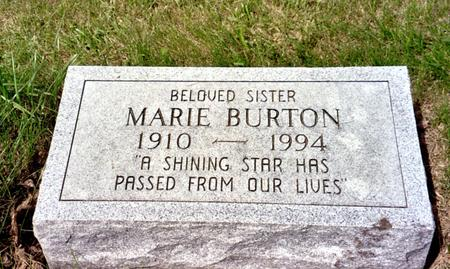BURTON, MARIE - Ida County, Iowa | MARIE BURTON