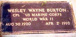 BURTON, WESLEY WAYNE - Ida County, Iowa | WESLEY WAYNE BURTON