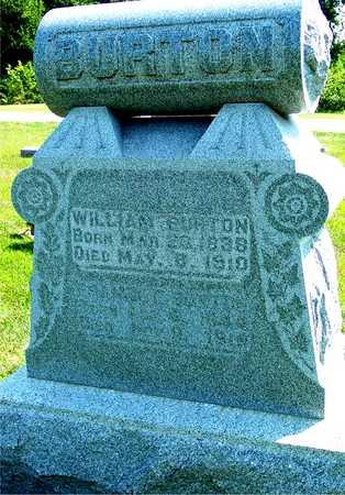 BURTON, WILLIAM & FRANCIS - Ida County, Iowa   WILLIAM & FRANCIS BURTON