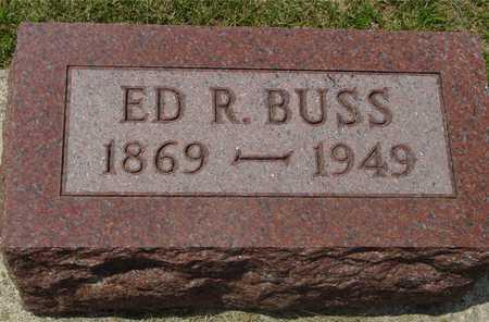 BUSS, ED R. - Ida County, Iowa   ED R. BUSS