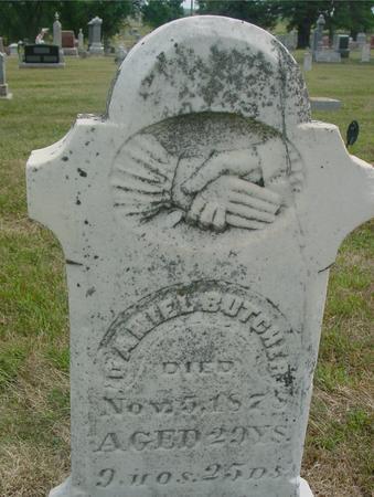 BUTCHER, DANIEL - Ida County, Iowa | DANIEL BUTCHER