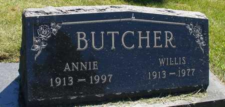 BUTCHER, WILLIS & ANNIE - Ida County, Iowa | WILLIS & ANNIE BUTCHER