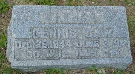CAIN, DENNIS - Ida County, Iowa | DENNIS CAIN
