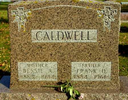 CALDWELL, FRANK O. & BESSIE - Ida County, Iowa   FRANK O. & BESSIE CALDWELL