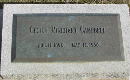 RINEHART CAMPBELL, CECILE - Ida County, Iowa | CECILE RINEHART CAMPBELL