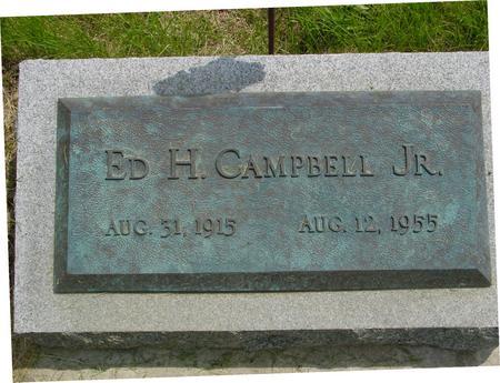 CAMPBELL, ED H.  JR. - Ida County, Iowa | ED H.  JR. CAMPBELL