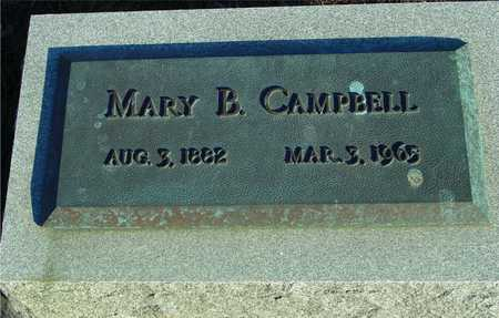 CAMPBELL, MARY B. - Ida County, Iowa | MARY B. CAMPBELL