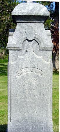 CAPP, G.  W. - Ida County, Iowa | G.  W. CAPP