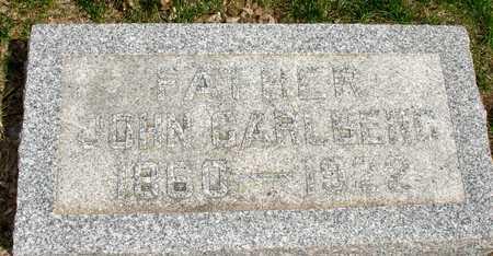 CARLBERG, JOHN - Ida County, Iowa | JOHN CARLBERG