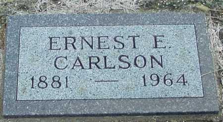 CARLSON, ERNEST E. - Ida County, Iowa | ERNEST E. CARLSON