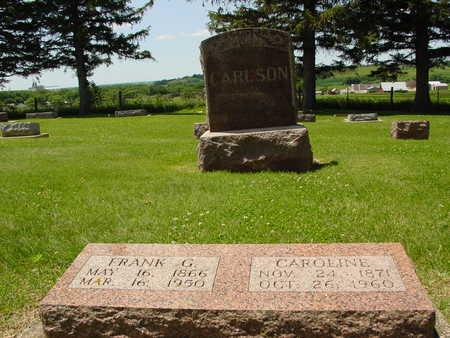 CARLSON, FRANK & CAROLINE - Ida County, Iowa   FRANK & CAROLINE CARLSON