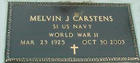 CARSTENS, MELVIN J. - Ida County, Iowa | MELVIN J. CARSTENS