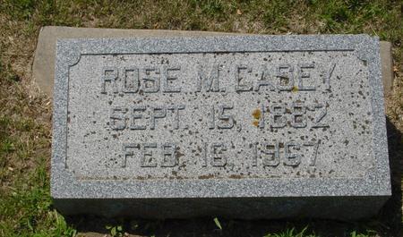 CASEY, ROSE M. - Ida County, Iowa   ROSE M. CASEY
