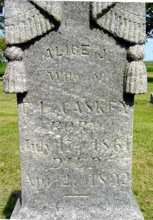 CASKEY, ALICE J. - Ida County, Iowa | ALICE J. CASKEY