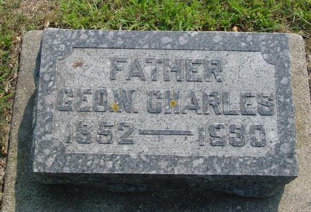 CHARLES, GEORGE W. - Ida County, Iowa | GEORGE W. CHARLES
