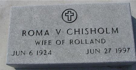 CHISHOLM, ROMA V. - Ida County, Iowa   ROMA V. CHISHOLM